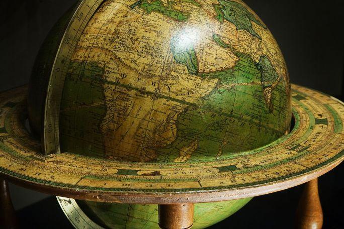 Vienna - Baroque World Globe - 6762