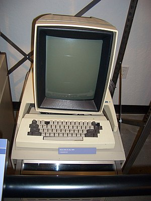 The Xerox Alto workstation, first to use a gra...