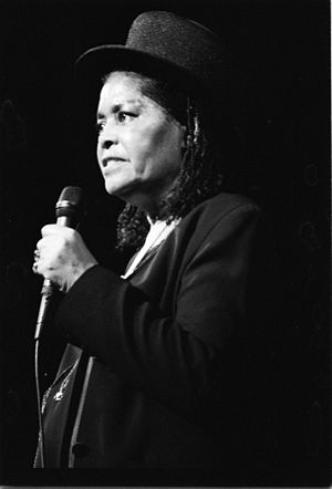 Abbey Lincoln in concert, 1992