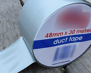 English: Duct Tape as purchased in Australia