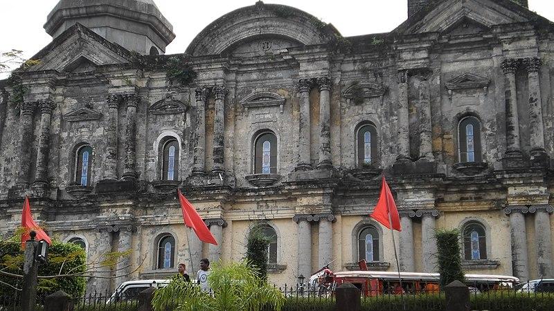 File:Basilica of Saint Martin De Tours, Taal, Batangas - panoramio (1).jpg