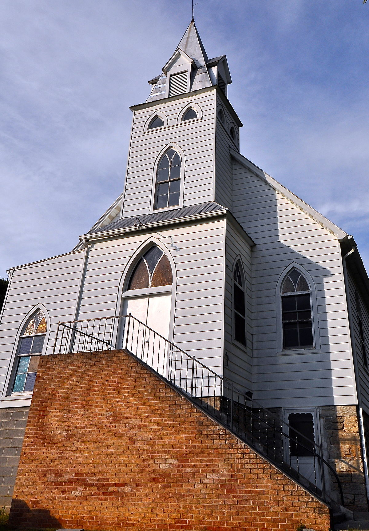 Big Spring Baptist Church Elliston Virginia Wikipedia
