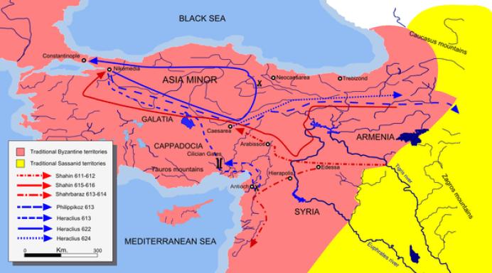 Byzantine–Sasanian War of 602–628 - Wikiwand
