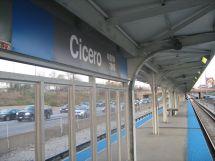 Cicero Station Cta Blue Line - Wikipedia
