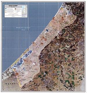 Gaza strip may 2005