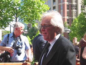 Glen Sather, general manager of the New York R...
