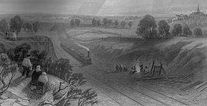 Harrow on the Hill cutting on the London & Bir...