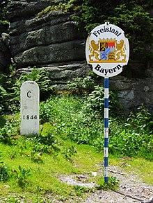 Czech RepublicGermany border  Wikipedia
