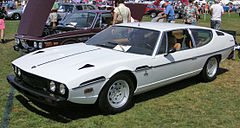 Lamborghini Espada, un GT 2+2 de la firma, de los años 60 y los 70.