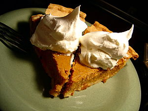 Last two pieces of pumpkin pie and they are mi...