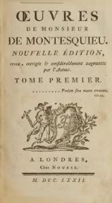 Montesquieu L Esprit Des Lois : montesquieu, esprit, Livre:Montesquieu, Esprit, 1.djvu, Wikisource