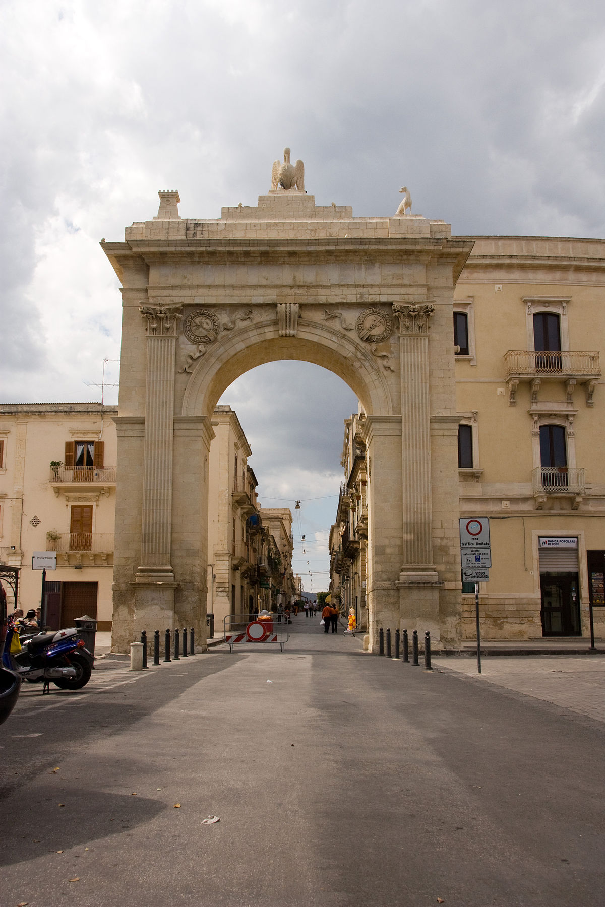 Porta Reale Noto  Wikipedia