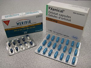 Medication used for obesity. Orlistat and sibu...