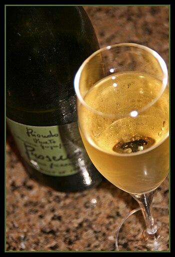 An Italian sparkling wine