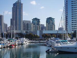 English: Southeastern part of the Marina Distr...