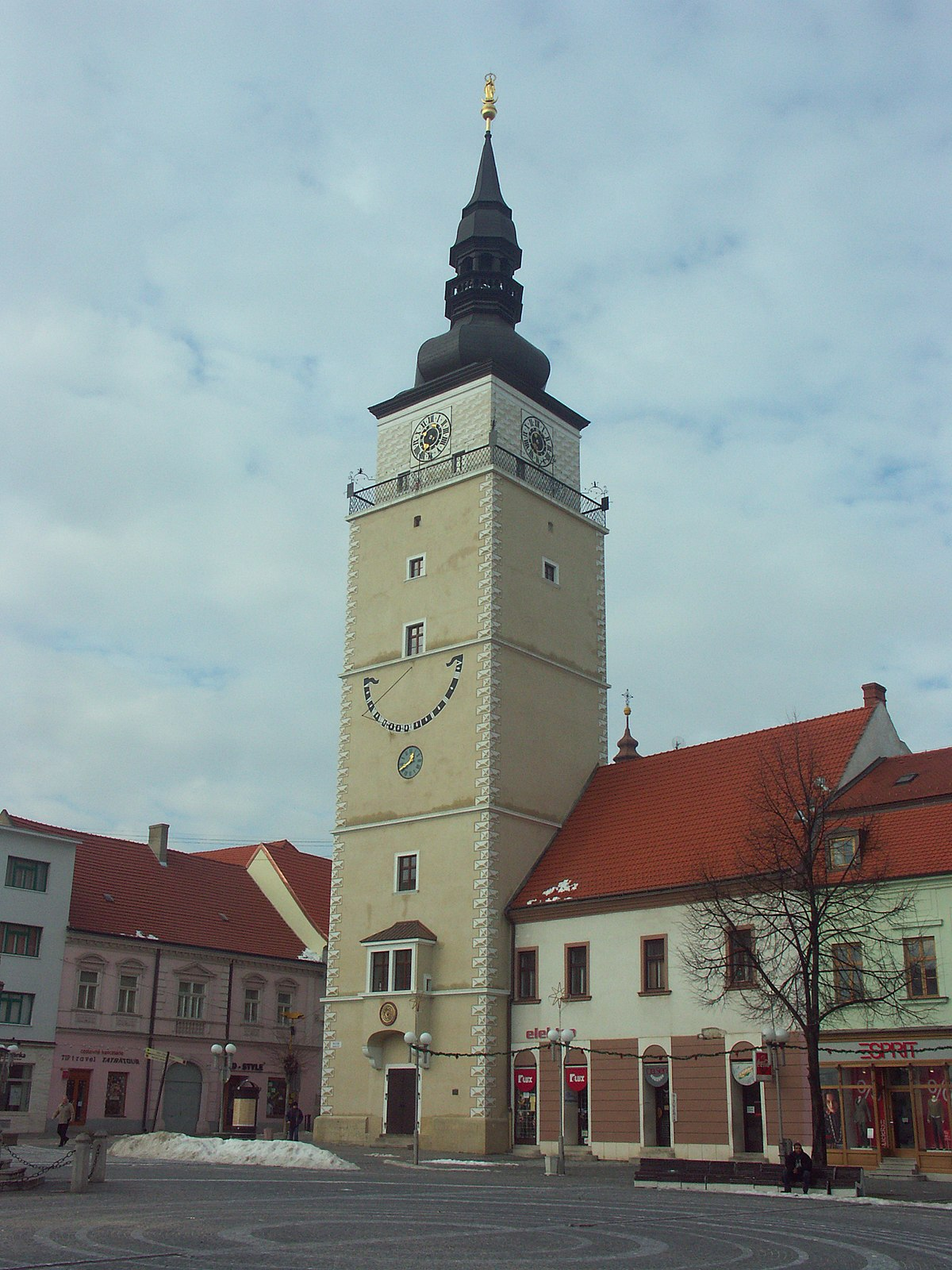City Tower Trnava  Wikipedia