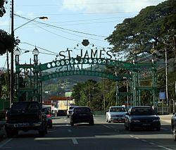 Saint James Trinidad And Tobago Wikipedia