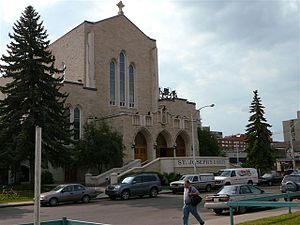 Basilica & RC Cathedral of St. Joseph, in Edmo...