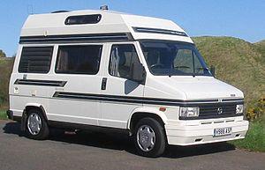 An Autosleeper Harmony Campervan on a Talbot E...