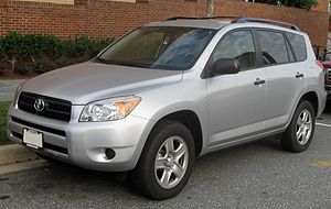 2006-2008 Toyota RAV4 photographed in College ...