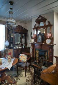 File:19th century Victorian living room, Auckland