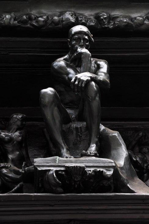Auguste Rodin's 'La Porte de l'enfer' (Detailansicht) - Kunsthaus Zürich 2011-08-14 18-40-12
