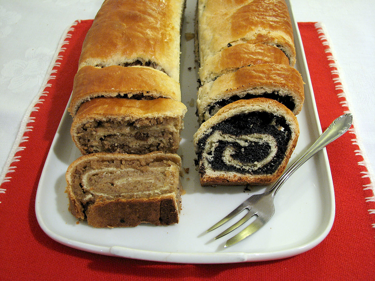 Roll Hungarian Recipe Nut Beigli