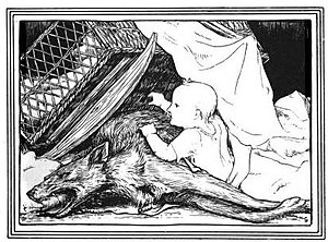 English: An illustration of the fairy tale Bet...