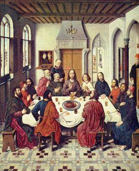 L'institution de la sainte Eucharistie