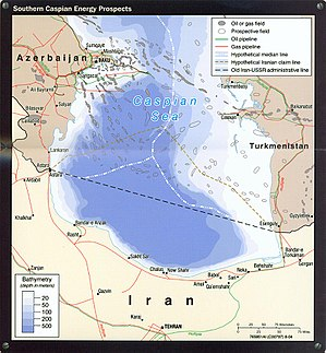 English: Southern Caspian Energy Prospects por...