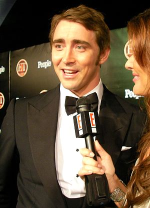 American actor Lee Pace at the ET Post-Emmys P...