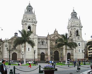 Bas�lica Catedral de Lima.