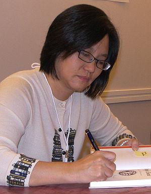 Linda Sue Park at the 2007 Texas Book Festival...