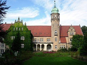 Ulenburg Castle in town of Löhne, District of ...