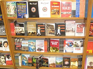 "Copies of Hitler's ""Mein Kampf"" in a..."