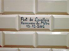 Struttura delle stazioni della metropolitana di Parigi  Wikipedia