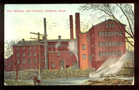 "Caption: ""The National Hat Factory, Danbu..."