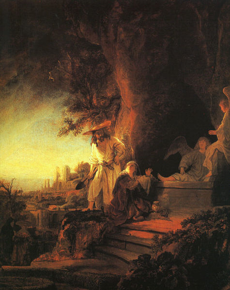 File:Rembrandt - The Risen Christ Appearing to Mary Magdalen - WGA19094.jpg