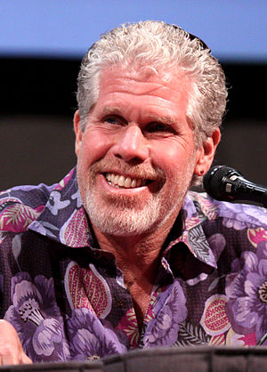 English: Ron Perlman at the 2011 Comic Con in ...