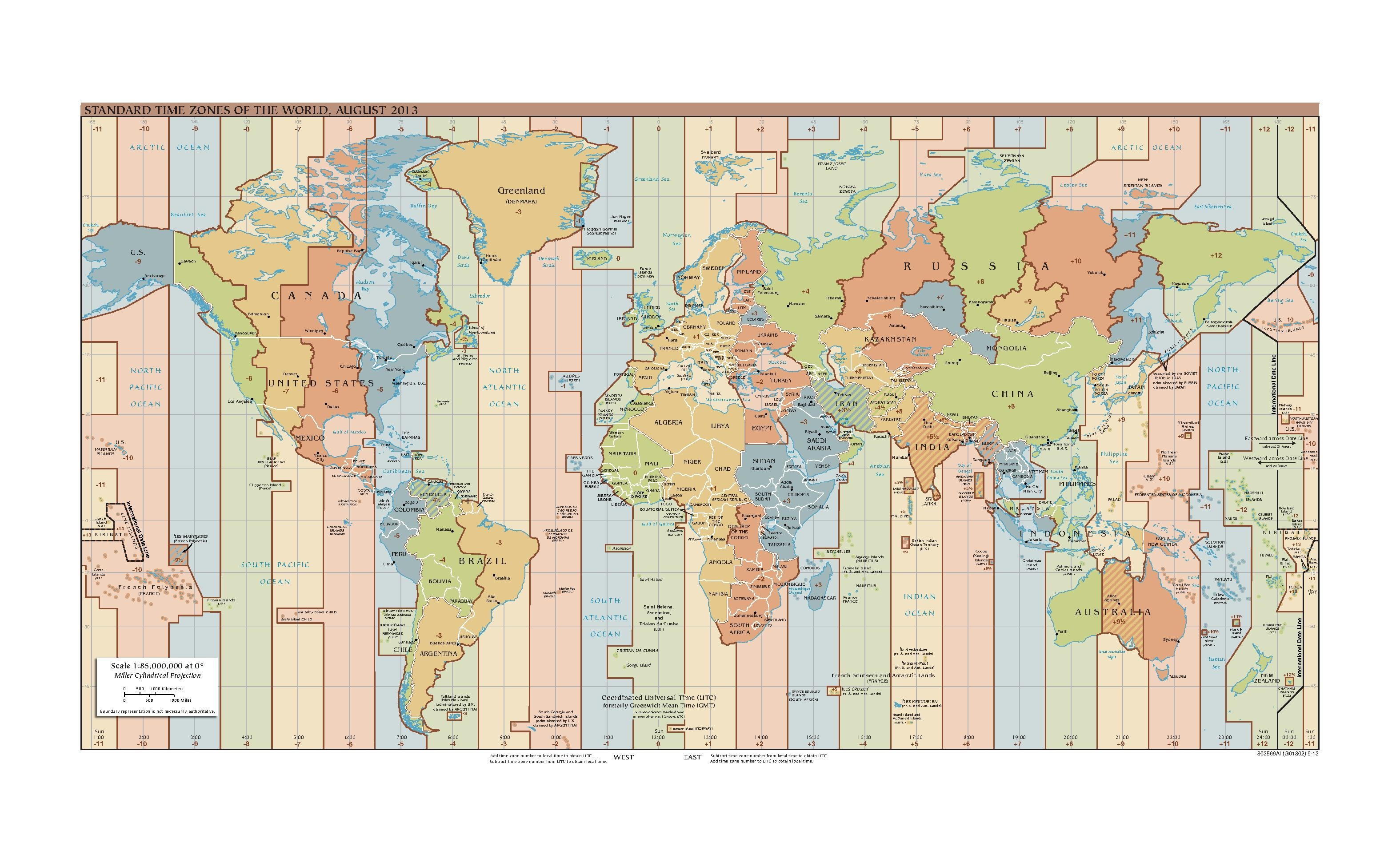 File Standard Time Zones Of The World August