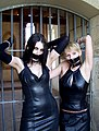 Tapegag (Bondage) 2 girls in rubber-leather.jpg