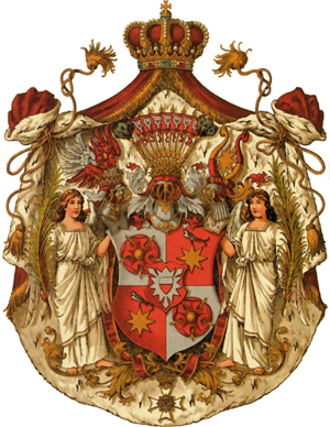 Česky: Schaumburg-Lippe. Deutsch: Fürstentum S...
