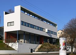 17人の建築家が参加した住宅展覧会 ヴァイセンホーフ・ジードルングの参考画像