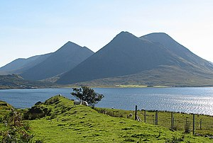 English: A Clear Skye Day Taken from Raasay wh...