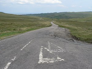 English: Ardnamurchan: the road to Kilmory One...