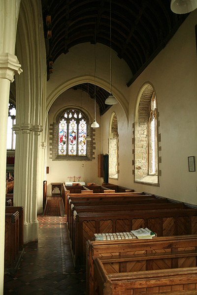 File:Ashreigney, south aisle, St James's church - geograph.org.uk