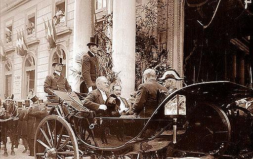 Avignon Arrivée de Poincaré le 14 octobre 1913