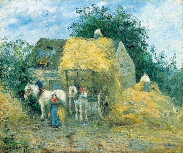 Camille Pissarro Impressionist Paintings