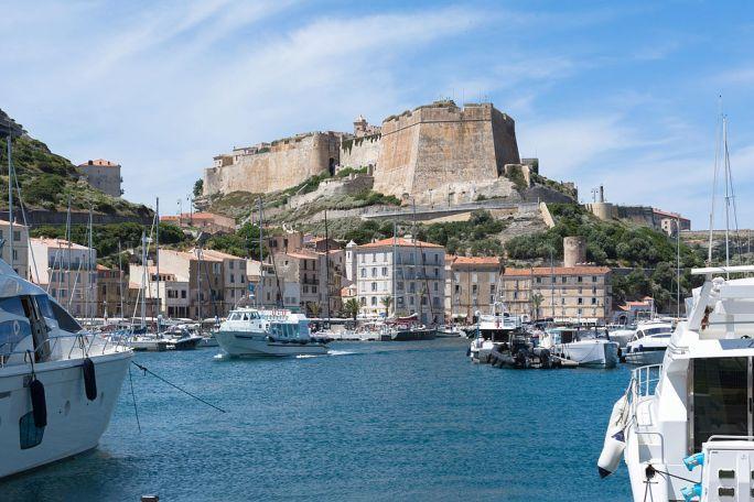 Corsica Lucciana Bonifacio citadelle port de plaisance