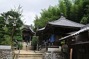 English: Eifuku-ji temple 日本語: 栄福寺境内
